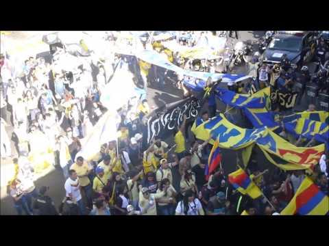 América 0-0 Puebla. Caravana, Ritual del Kaoz en la Jornada 1 del Clausura 2016 - Ritual Del Kaoz - América