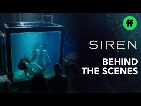 Siren Season 2 | Behind the Scenes: Underwater Mermaid Fight | Freeform