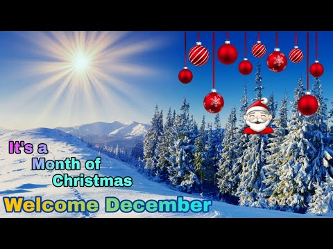 Happy quotes - Welcome December 2018 Wishes, Goodbye November Hello December/Happy December Quotes/WhatsApp Status