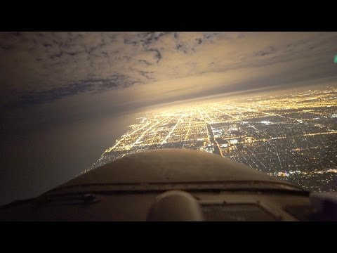 Flying a Cessna into Chicago O'Hare | ATC Audio