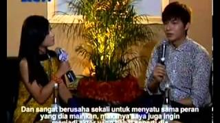 Video Lee Min Ho Interview with Dahsyat MP3, 3GP, MP4, WEBM, AVI, FLV September 2018
