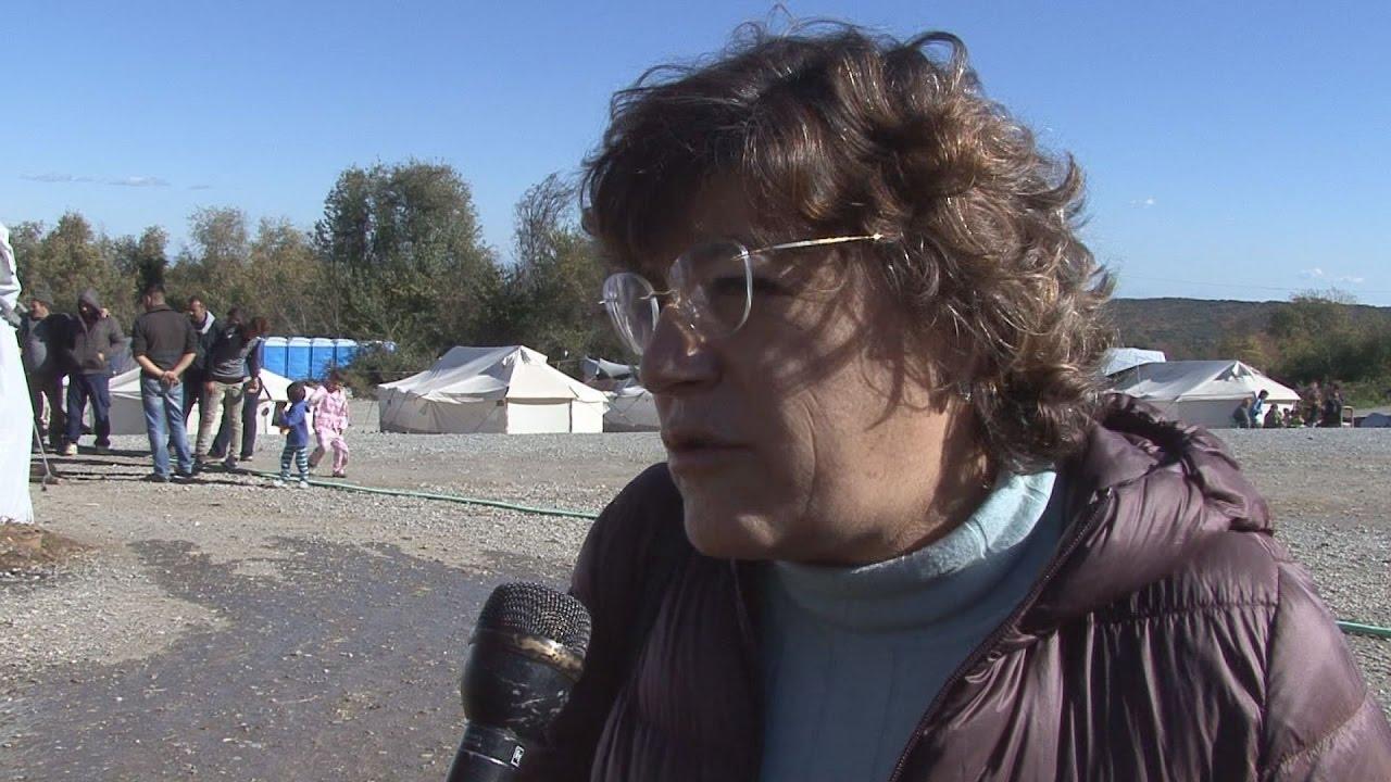 Η ευρωβουλευτής Άννα Γκόμες στο ΑΠΕ-ΜΠΕ
