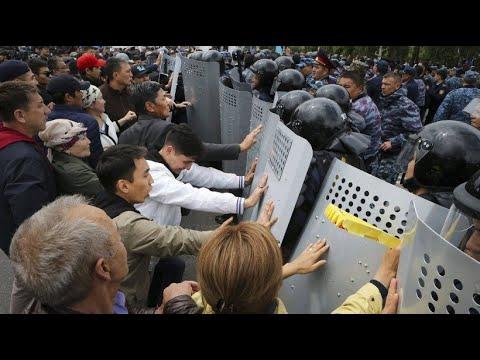 Kasachstan: Demonstrationen gegen Scheinwahl eskalier ...