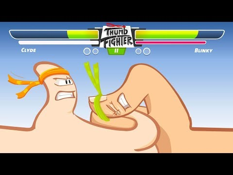 Games For Kids || Thumb Fighter || Game Y8 For Kids