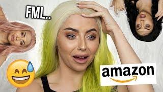 Video TESTING CHEAP AMAZON LACE FRONT WIGS! UNDER £35! I'M IMPRESSED..KINDA MP3, 3GP, MP4, WEBM, AVI, FLV Juli 2019