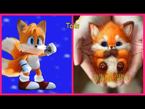 Sonic The Hedgehog In Real Life 💥 All Characters 👉@WANA Plus