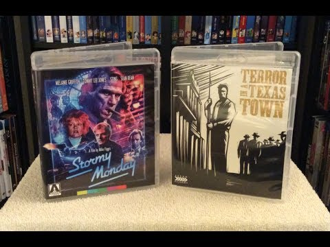 Stormy Monday / Terror In A Texas Town BLU RAY UNBOXING + Review - Arrow
