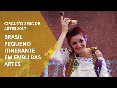 Brasil Pequeno Itinerante em Embu das Artes
