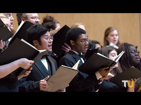 "The TU Chorale: ""Almost Heaven"" by Jeremiah Lloyd Harmon"