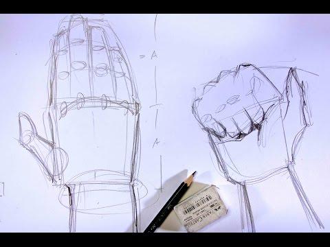 Innenarchitektur zeichnen lernen  Zeichnen lernen - Möbel Klassiker skizzieren (2/2 ...