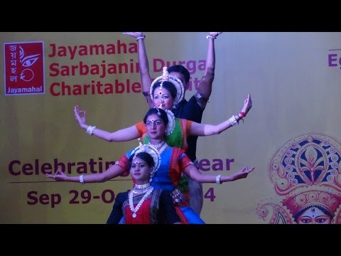 Video 'Jaago Durga' Odissi Dance download in MP3, 3GP, MP4, WEBM, AVI, FLV January 2017