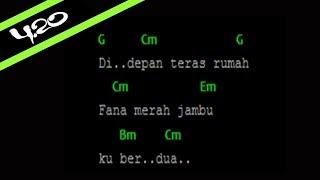 Chord Fourtwnty - Fana Merah Jambu