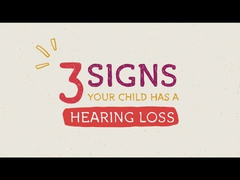 TSH - 3 Signs Your Child Has a Hearing Loss