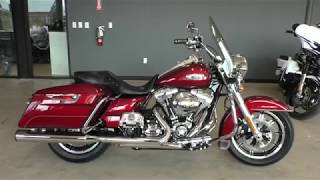 10. 682602   2016 Harley Davidson Road King   FLHR Used motorcycles for sale