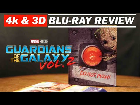 Guardians Of The Galaxy Vol.2 4K and 3D Bluray Review Dolby Atmos