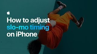 Video How to adjust slo-mo timing on iPhone — Apple MP3, 3GP, MP4, WEBM, AVI, FLV November 2018