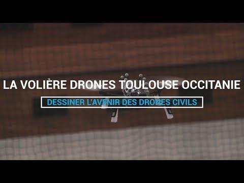 VIDEO - Découvrez la volière drones de l'ENAC