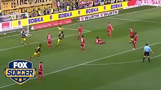 Christian Pulisic saves the day for Borussia Dortmund by FOX Soccer