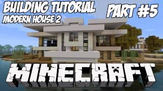 Minecraft Tutorial HD: Modern House 2 - Part 4 (Interior)