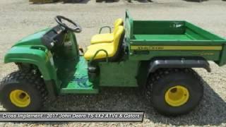 10. 2017 John Deere TS 4X2 Minier, Springfield, Bloomington, and Peoria, IL 44668