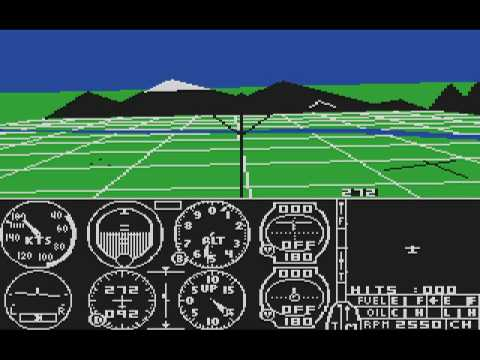 flight simulator atari xe