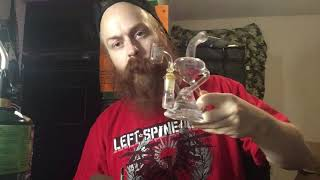 Hemper recycler Bong Review by Phat Robs Oils