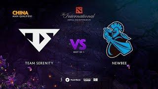 Team Serenity vs Newbee, TI9 Qualifiers CN, bo1 [Eiritel]