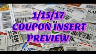 Get ready for our new coupons on 1/15! Check out a full preview of the up-coming coupons today! My favorite coupons are the...