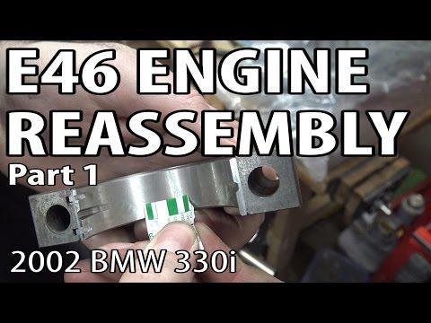 BMW E46 Engine Reassembly Part 1 #m54rebuild 22