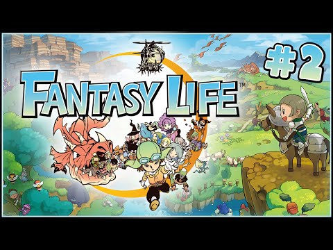 Must - Fantasy Life, the new role-playing game for the 3DS, continues as Zoey heads in to the Royal Court to meet the King! I have to say, he makes dosh sound mighty alluring... Thanks to Nintendo...