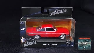 Nonton Fast & Furious 8 - Dom's 1961 Chevy Impala - Jada Toys 1:32 Unboxing Film Subtitle Indonesia Streaming Movie Download
