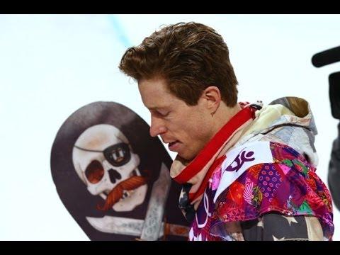 Shaun White Fails Snowboarding Sochi Olympics 2014