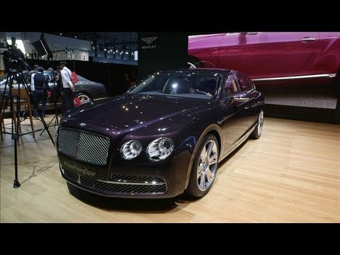 The Bentley Flying Spur at the NY Auto Show