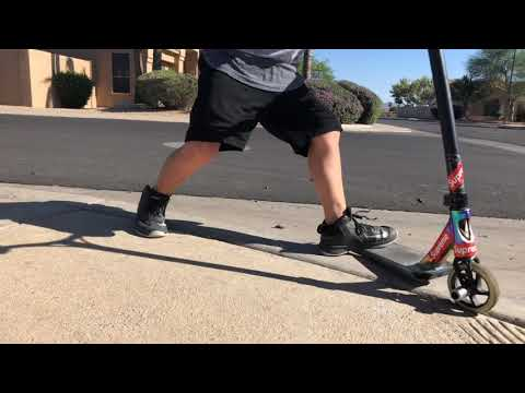 1 foot whip To a grind (видео)