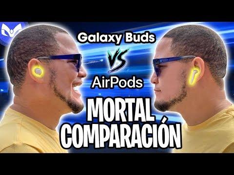 AirPods 2 Vs Galaxy Buds CUAL COMPRAR ? $130 vs $200 REAL