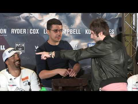 Jay from The Inbetweeners gatecrashes Bellew and Haye's press conference