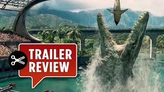 Instant Trailer Review: Jurassic World Official Trailer #1 (2015) - Chris Pratt Movie HD