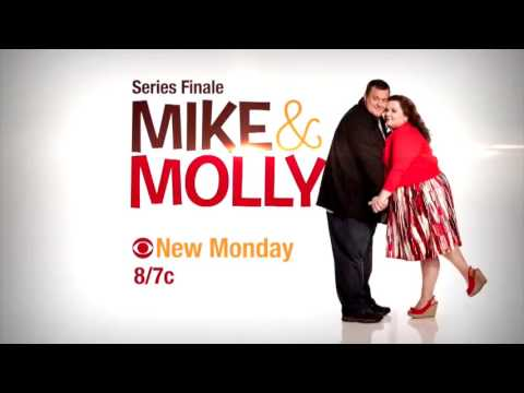 MIKE & MOLLY 6x12 CURSE OF THE BAMBINO - 6x13 I SEE LOVE   SERIES FINALE