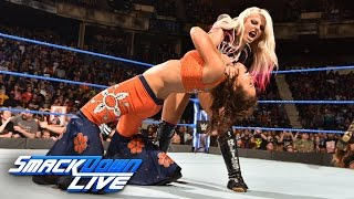 Nonton Becky Lynch & Mickie James vs. Alexa Bliss & Carmella: SmackDown LIVE, March 28, 2017 Film Subtitle Indonesia Streaming Movie Download