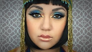 CLEOPATRA MAKEUP TUTORIAL  (Collab w/JoansStyleMusic) by Kat Sketch
