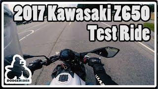 2. 2017 Kawasaki Z650 - Test Ride
