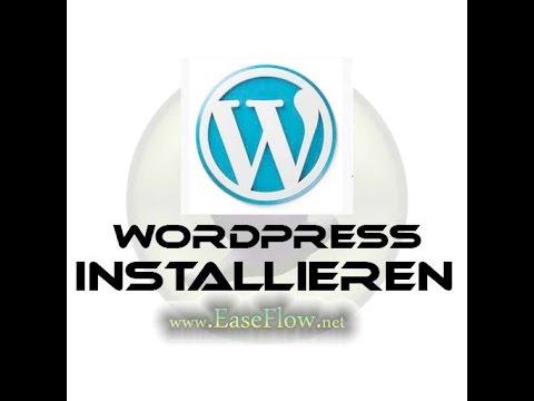 WordPress installieren – WordPress Grundlagen – Deutsch