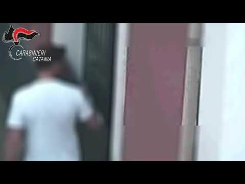 """Blitz """"Salette"""": il video dei carabinieri"""