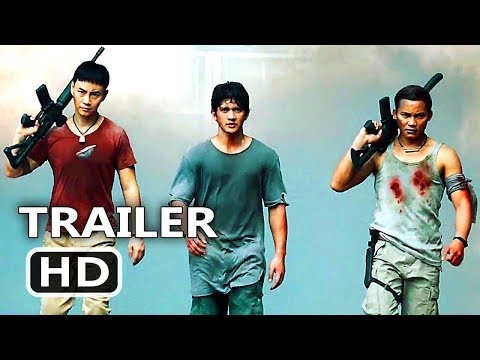 TRIPLE THREAT Official Trailer (2017) Tony Jaa, Iko Uwais, Scott Adkins Action Movie HD