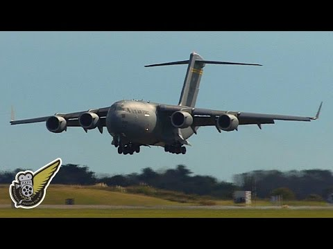 This is a Boeing C-17 Globemaster...