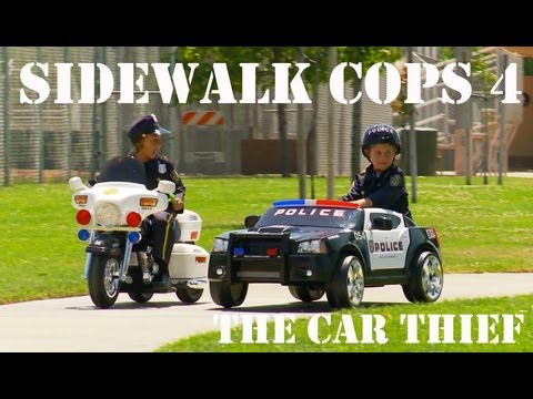 Sidewalk Cops 4 - The Car Thief