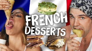 Americans Try Fancy AF French Desserts (Cheat Day) by Clevver Style
