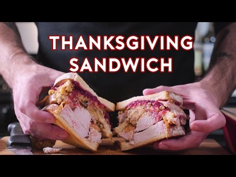 How to Create the  Moist Maker  Thanksgiving Sandwich That Ross  Boss Stole on