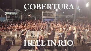Estivemos no festival HELL IN RIO que ocorreu nos dias 05 e 06 de Novembro no Terreirão do Samba no Rio de Janeiro. Duas noites de puro metal na orelha! Conf...
