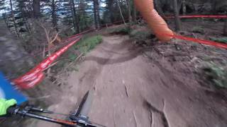 UNCUT and straight from timed practice - Drop in with Brendan Faircloughu200b and take a ride down the 2017 Andorra UCI Mountain Bikeu200b World Cup track.